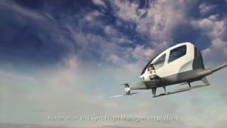 EHANG184, world's first Autonomous Aerial Vehicle