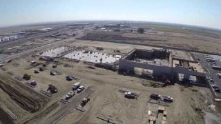Delano Marketplace Aerial Video 14 0114